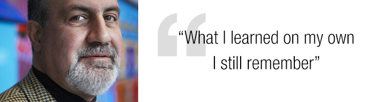 Nassim Taleb quote