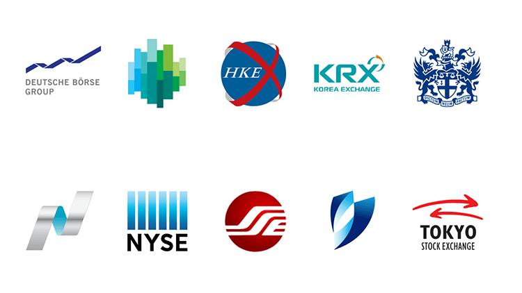 De top 10 grootste aandelenbeurzen wereldwijd