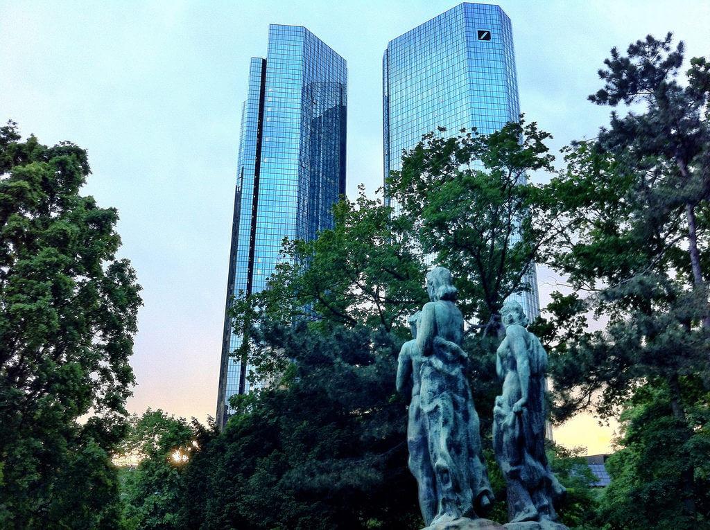aandeel deutsche bank