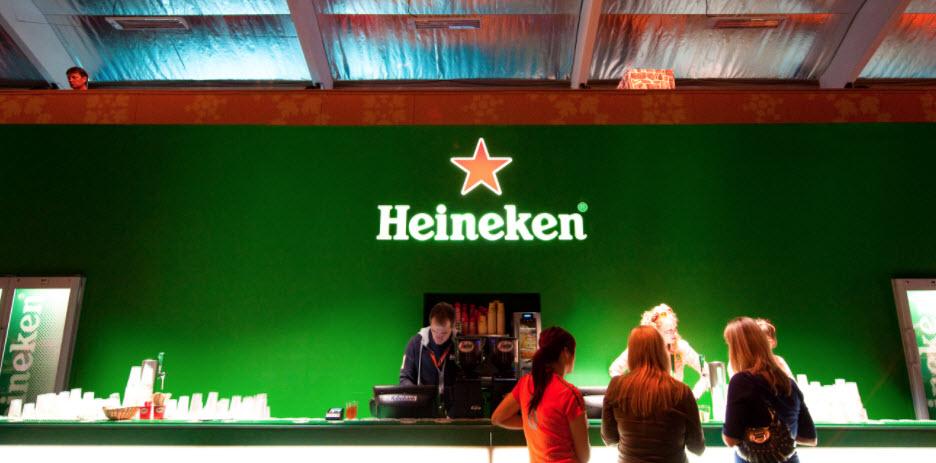 AEX index aandelen Heineken zwaargewicht