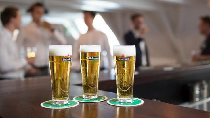 aandeel heineken bier