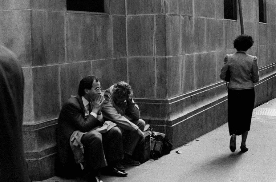 Black Monday 1987 zeepbel economie uitleg