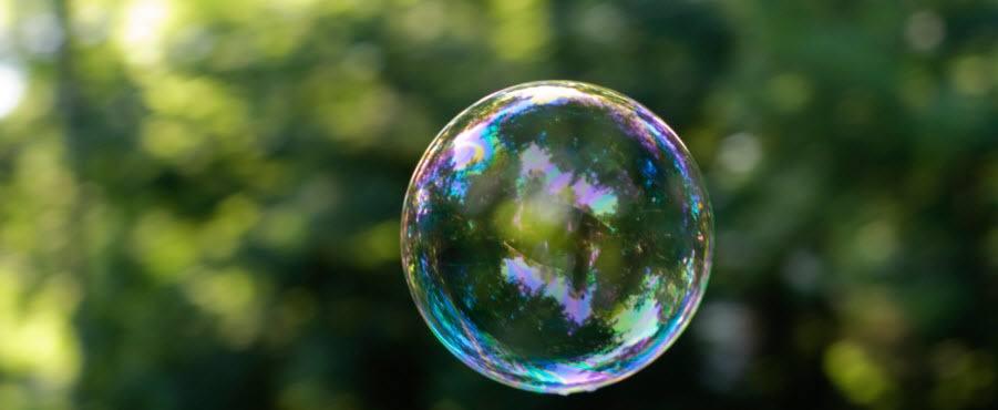 wat is een bubbel op de beurs; zeepbeleconomie
