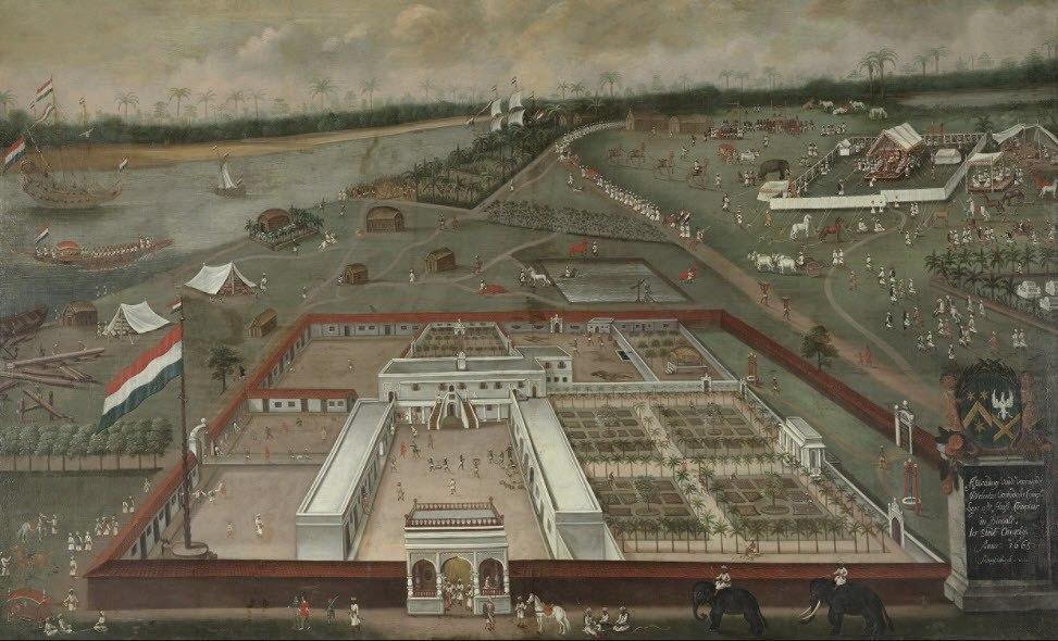 handelsloge bengale geschiedenis aandelen VOC