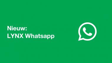 LYNX WhatsApp NIEUW