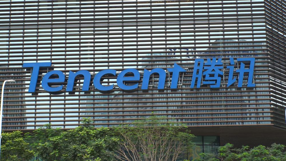 Naspers heeft 31,2% van Tencent