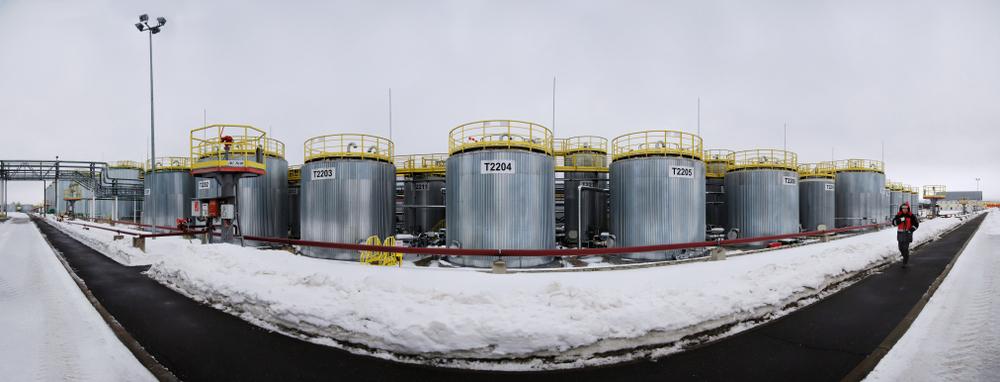 Aandeel Shell - Faciliteit van Shell in Rusland