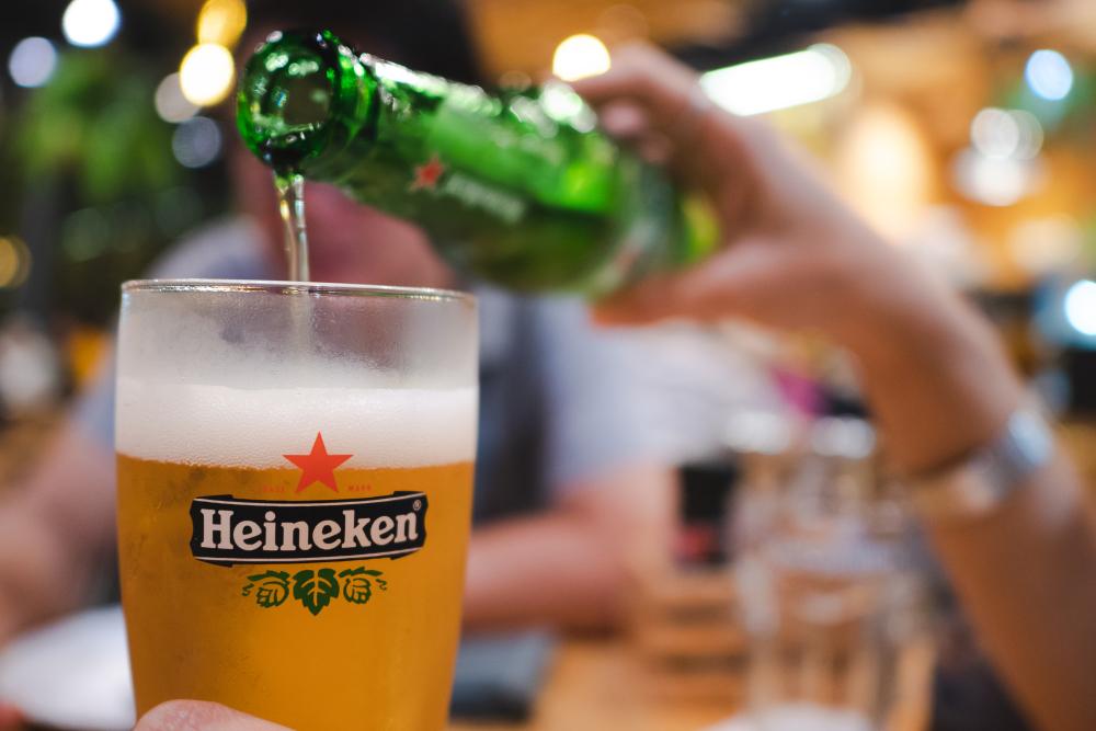 Heineken aandeel opkomst in Azië
