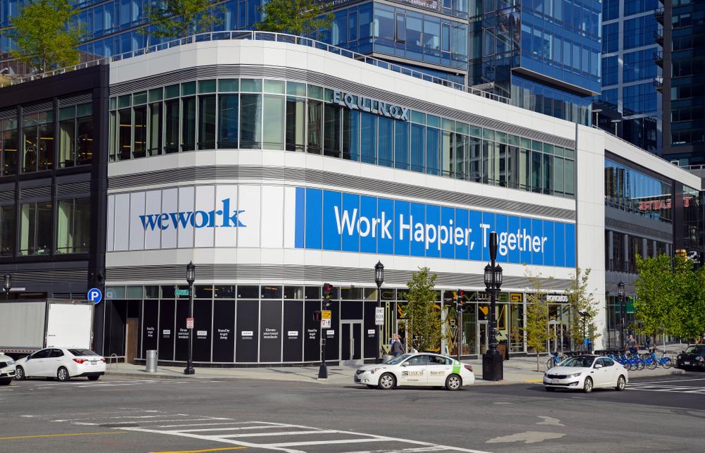 Beursgang WeWork - aandeel Wework - office