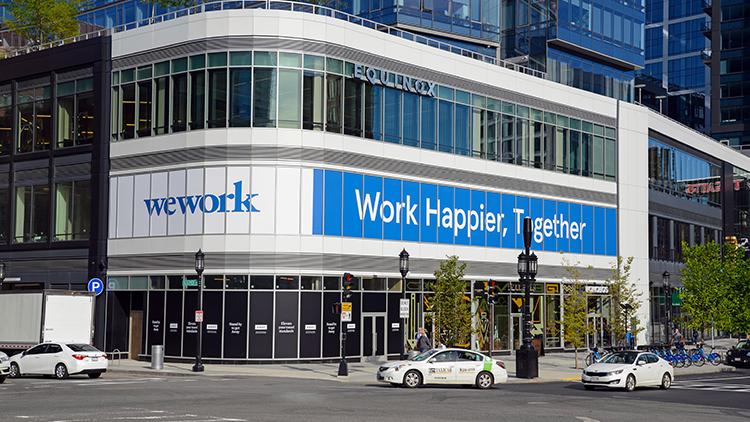 beursgang wework - kantoren wework - aandeel wework