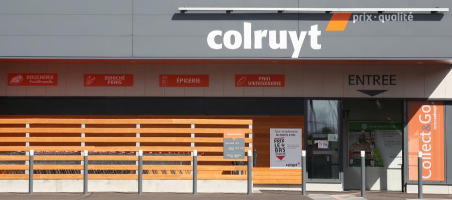 Aandeel Colruyt zwarte schaap
