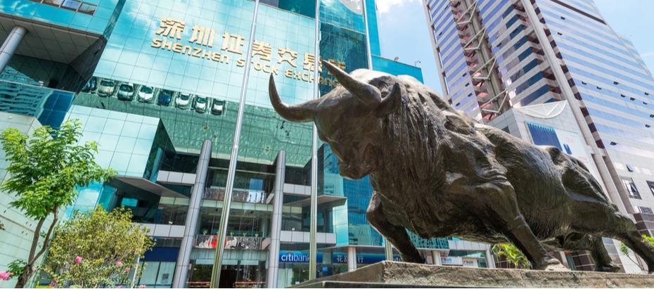 Shenzhen beurs Chinese aandelen en etf's