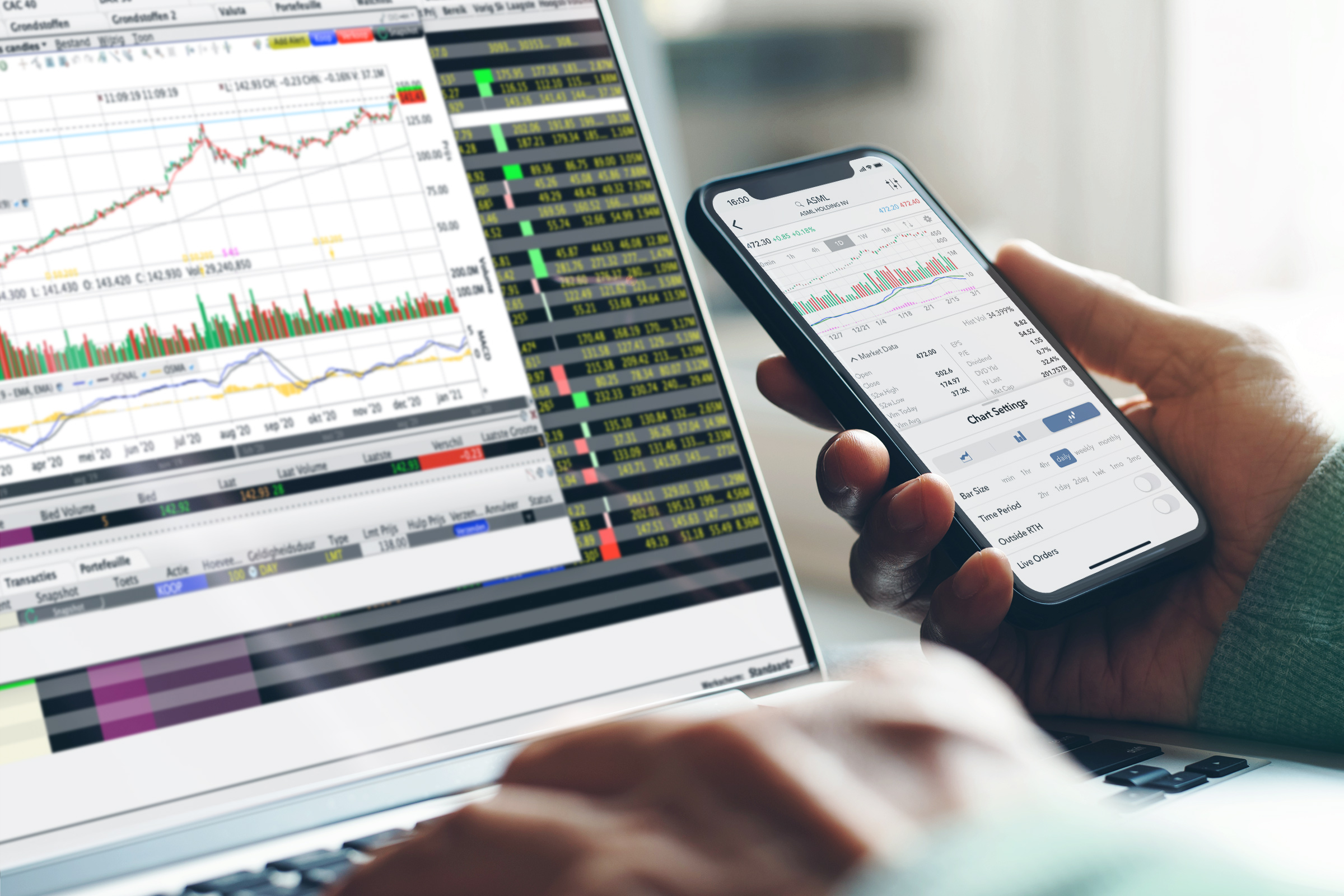 Aandelen handelen: De broker met het meest stabiele en innovatieve platform