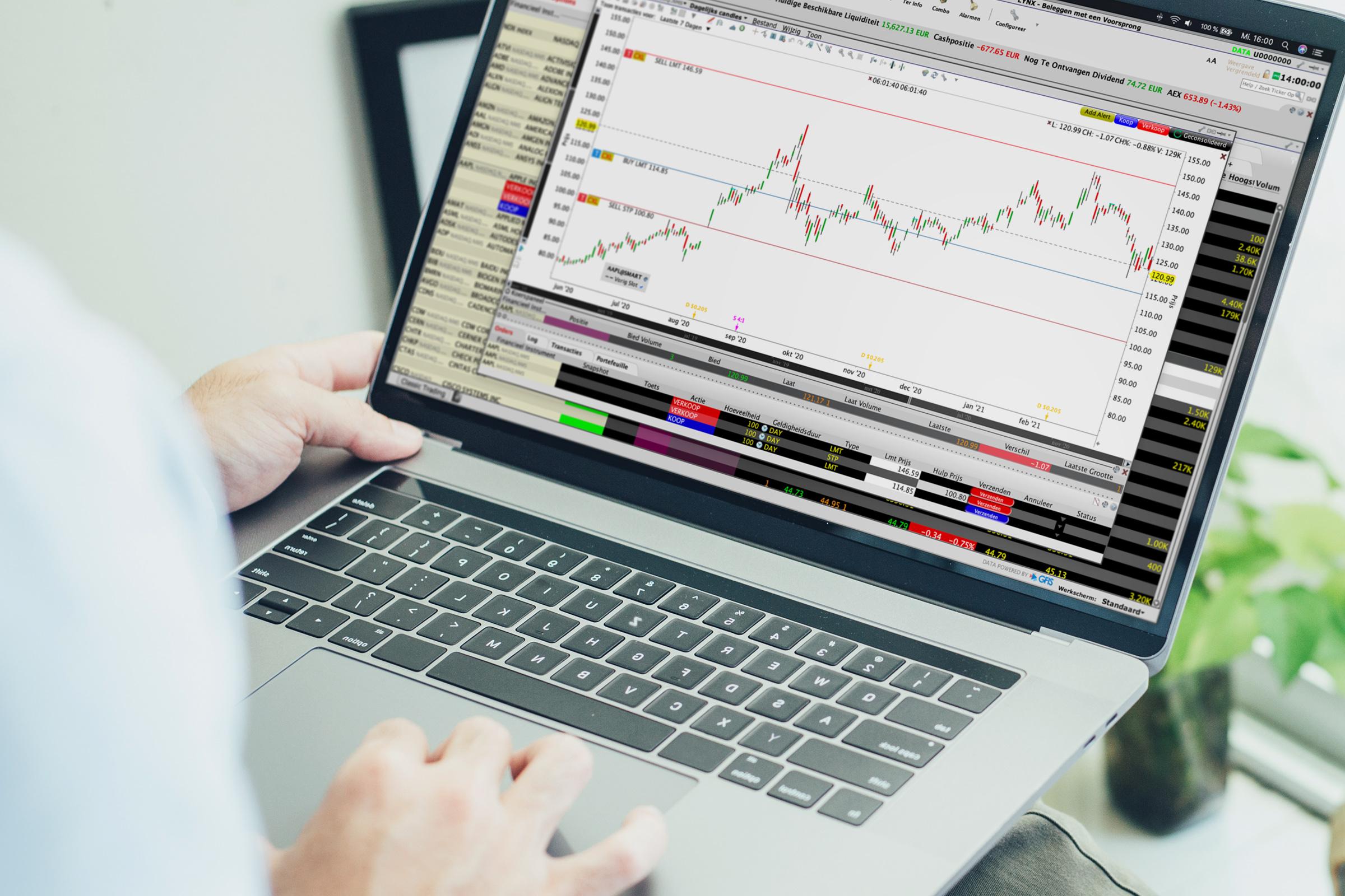 Uitgebreid handelsplatform - Beste broker