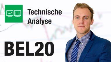 technische analyse BEL 20 - Kevin Verstraete - TA BEL20