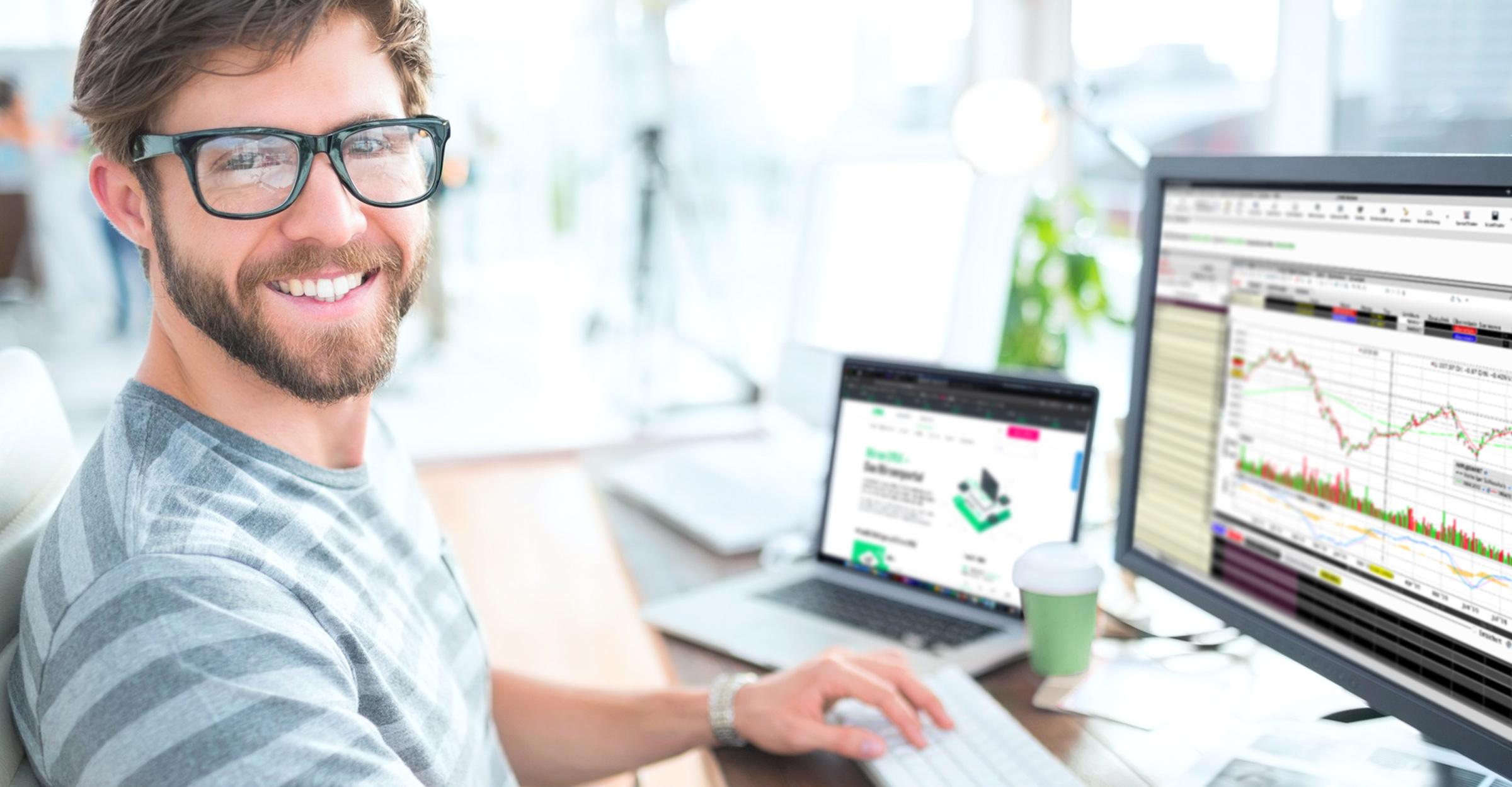 Online beleggen met het bekroonde handelsplatform via LYNX