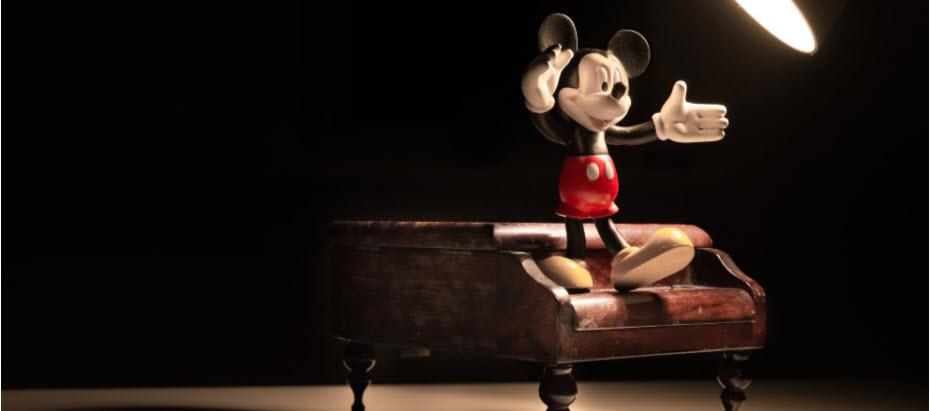Aandeel disney: Mickey Mouse