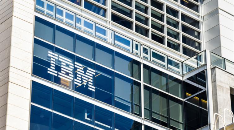 Aandeel IBM kan het tijd gekeerd worden