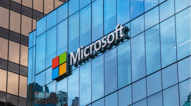 Aandeel Microsoft