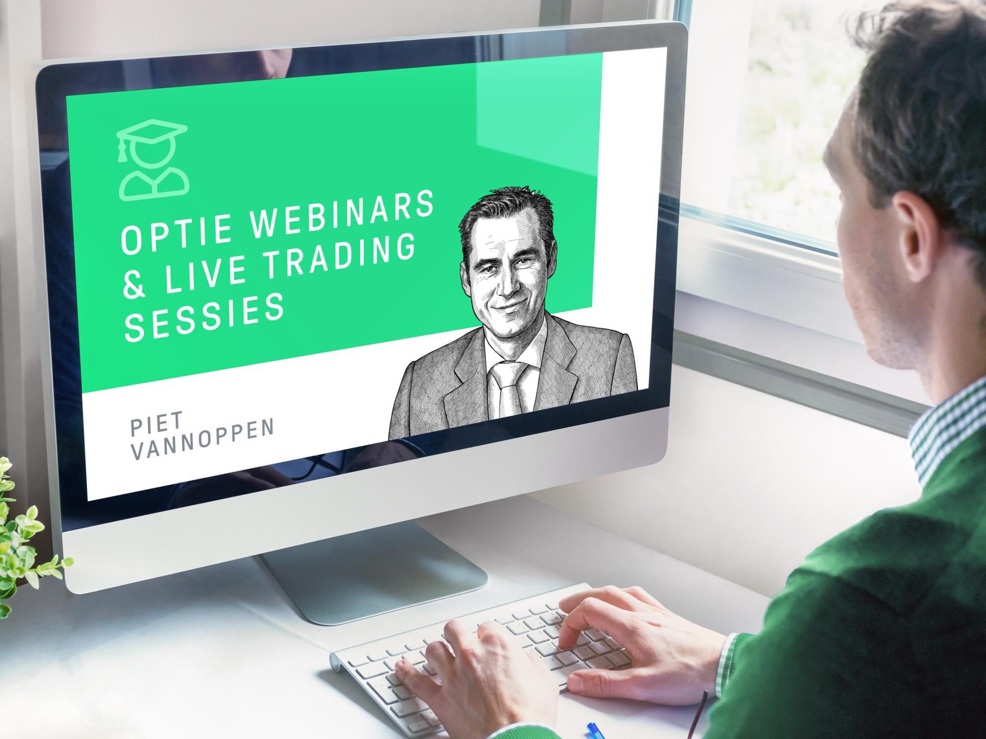 Leer over opties kopen en opties schrijven via optiewebinars