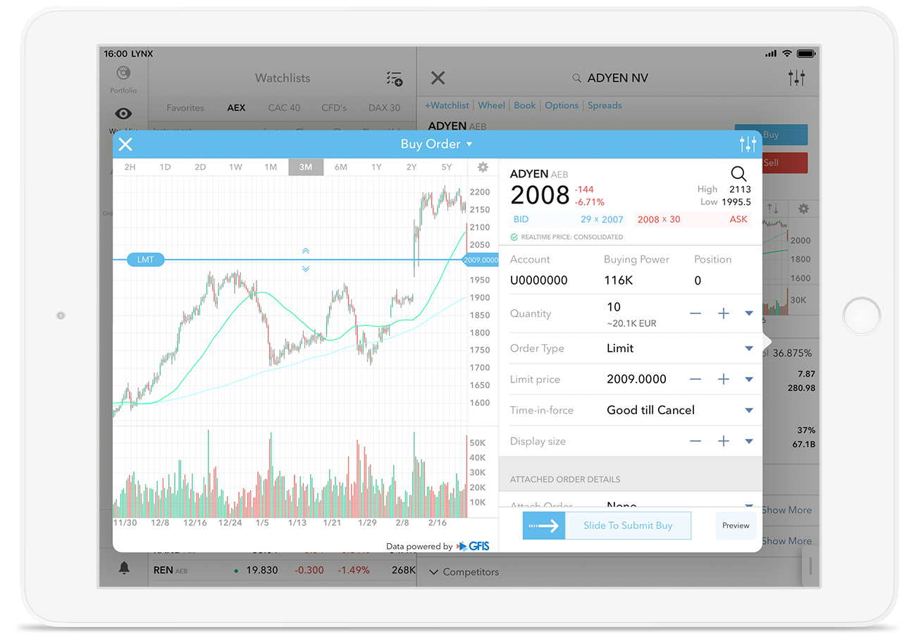 iPad Trading App: mobiel aandelen beleggen