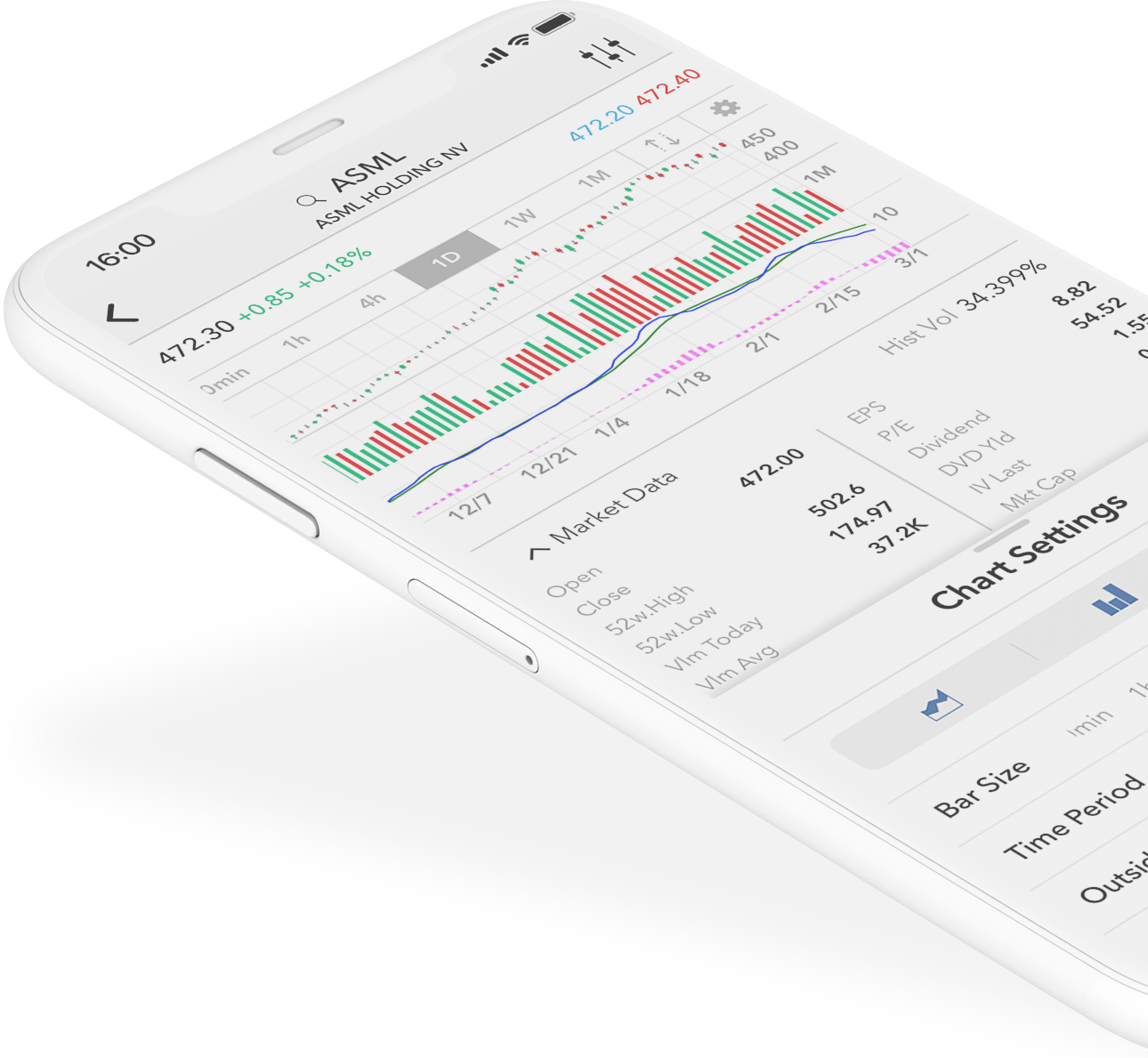 iPhone Trading App: Download in app store