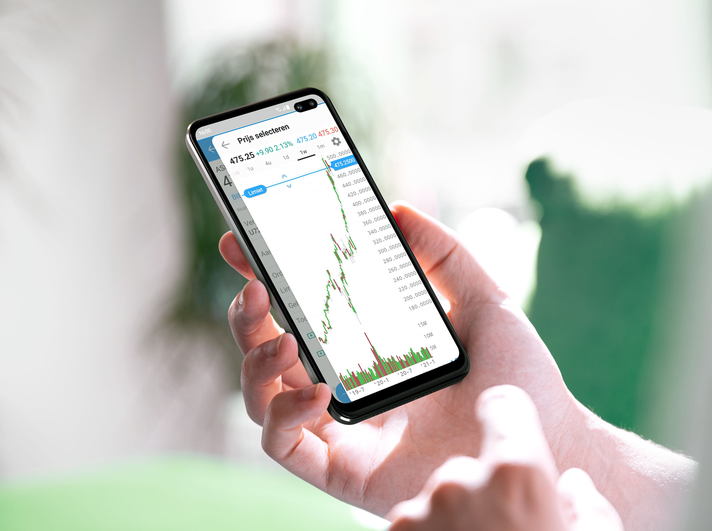 LYNX Trading Apps voor android devices