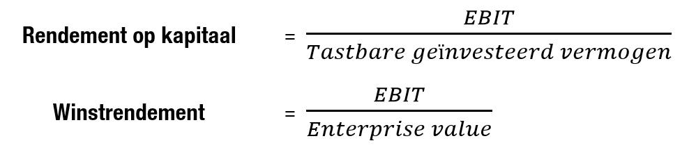 Strategie van Beursgoeroe Joel Greenblatt