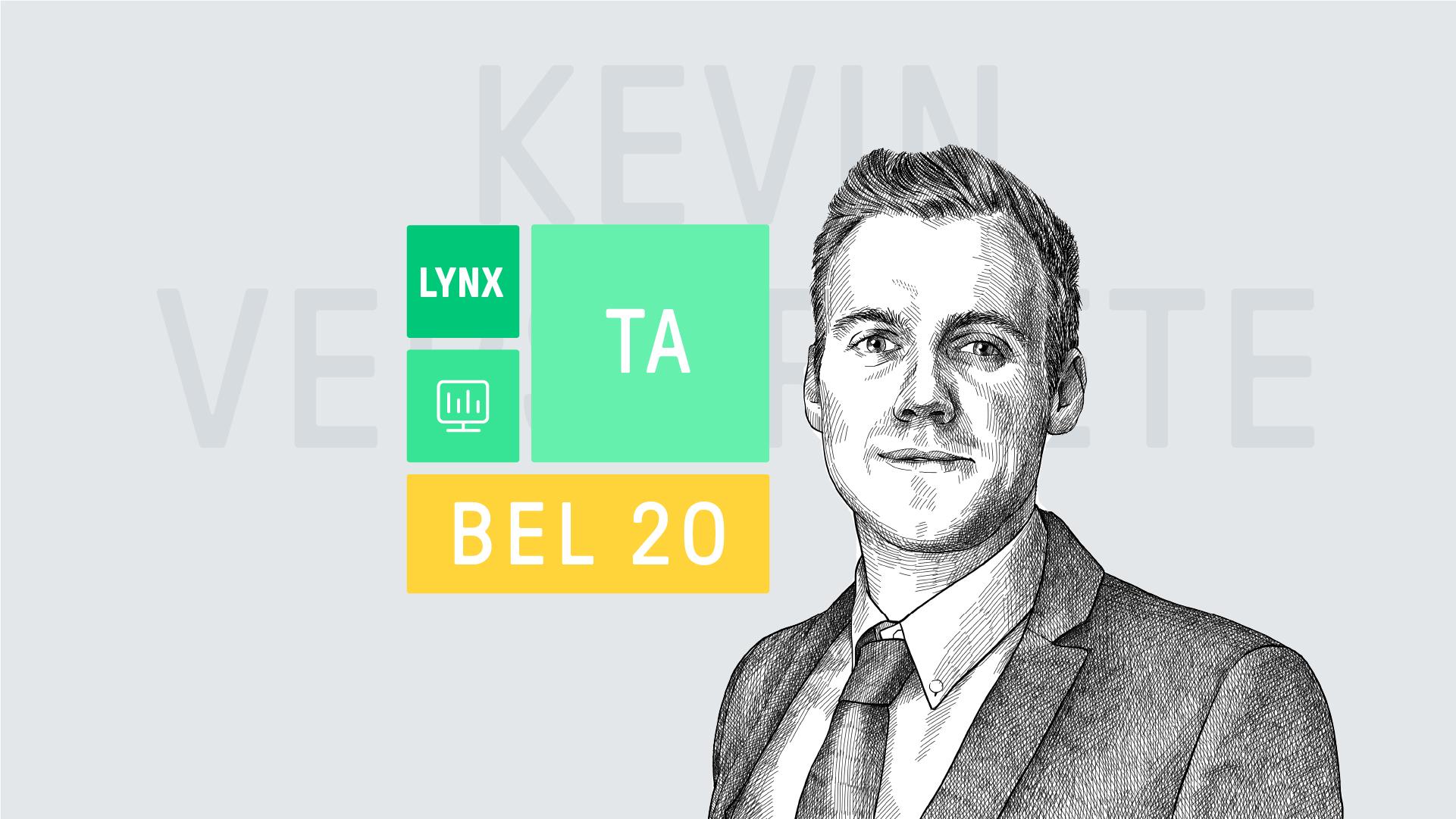 Elke maandag analyseert beleggingsexpert Kevin Verstraete de BEL 20 index op basis van technische analyse