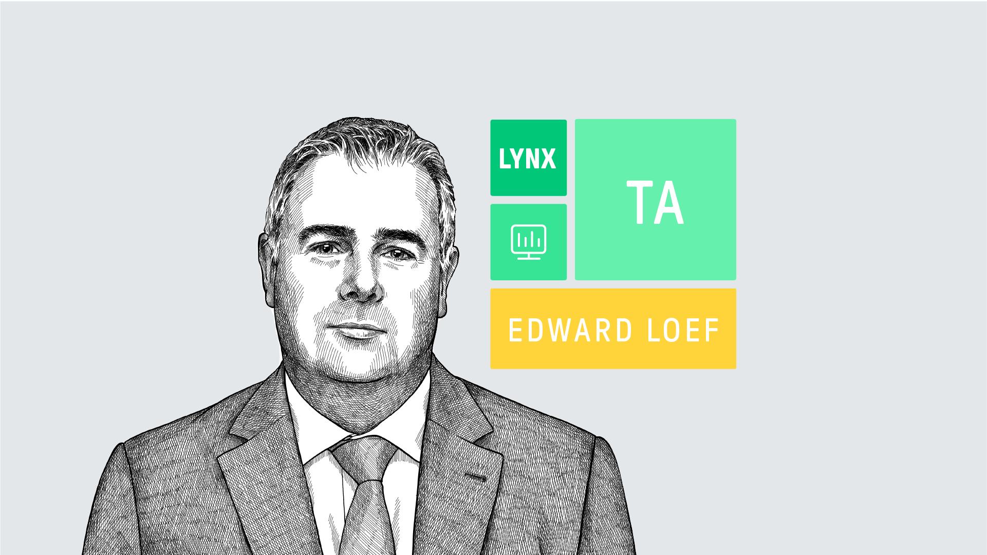 Dagelijkse analyseert Edward Loef drie aandelen, indices of andere effecten op basis van technische analyse
