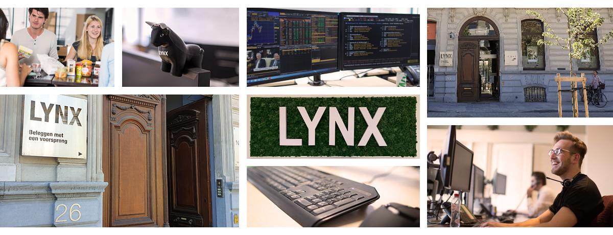 Open vacatures bij online broker LYNX - financiële sector